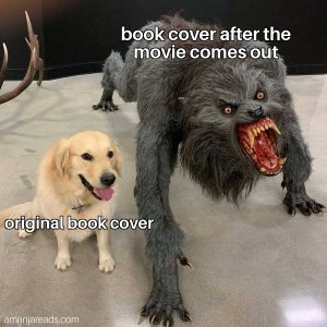amanjareads book cover meme