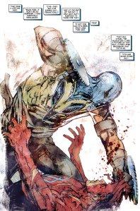 Gladiator attacking Daredevil