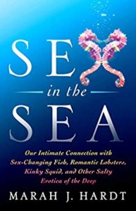 sex in the sea book cover, seahorses boning