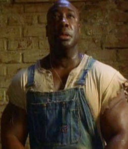 Michael Clark Duncan as John Coffey from the Green Mile