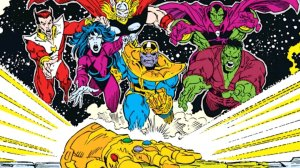 everyone going after the infinity gauntlet